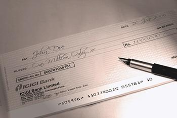 cheques rechazados
